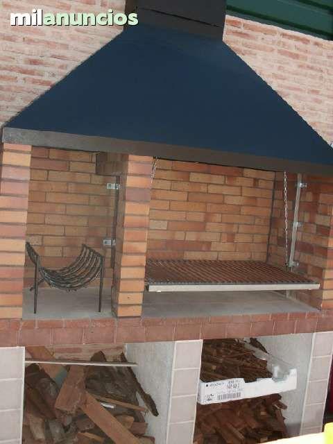 Parrilla dise o argentino con chimenea foto 5 for Construccion de chimeneas de ladrillo
