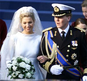 Prince Willem-Alexander & Maxima's Wedding (February 2, 2002)