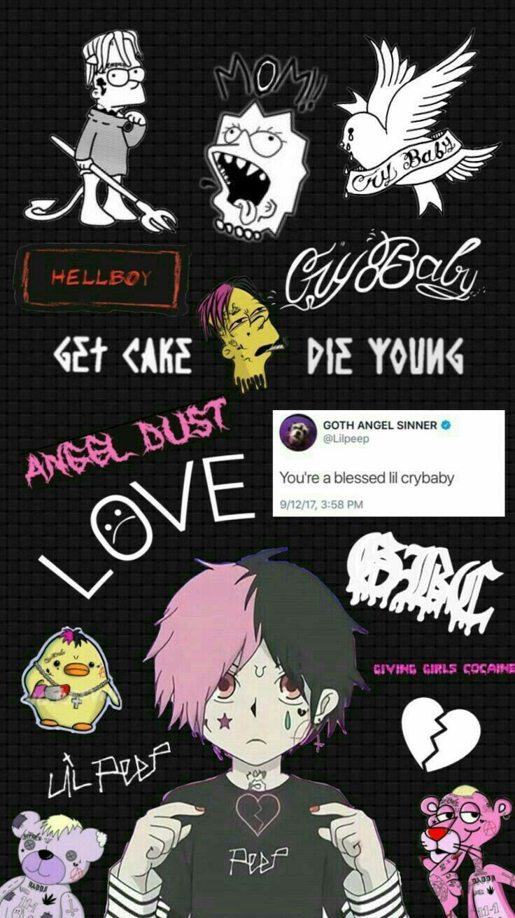 17+ Amazing Lil peep tattoos wallpaper ideas
