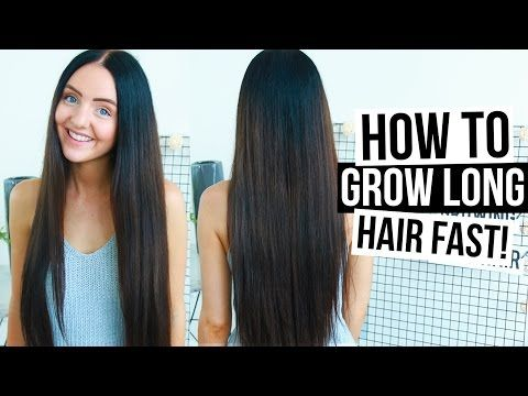 How To REALLY Grow LONG HAIR FAST & NATURALLY Easy Tips