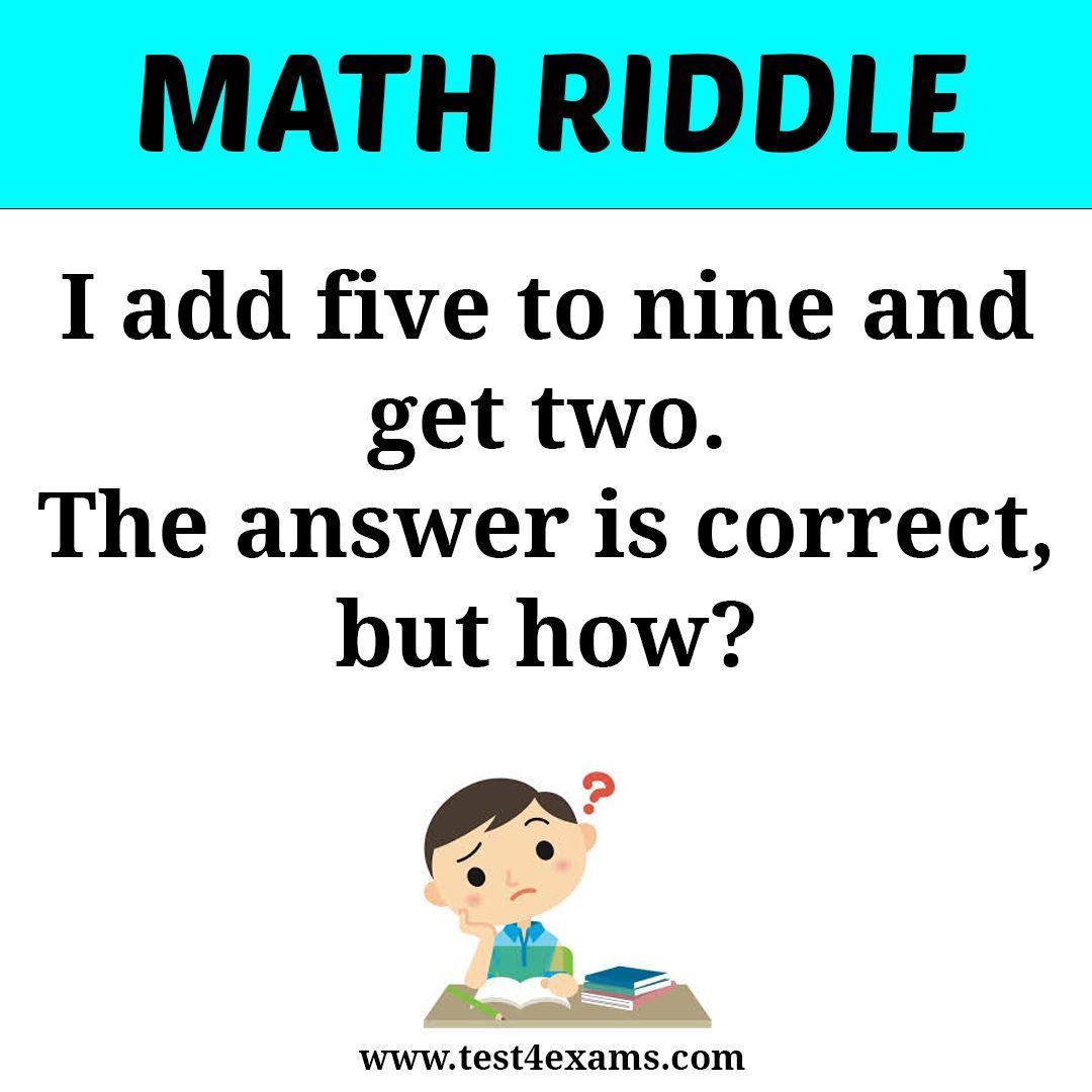 Maths Puzzles Math Puzzles Middle School Math Puzzles Brain Teasers [ 1990 x 1500 Pixel ]