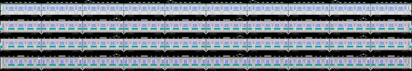 国鉄103系1000番台&203系(0番台・100番台)&207系900番台