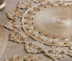 Tappeti di corda | tappeti | Pinterest