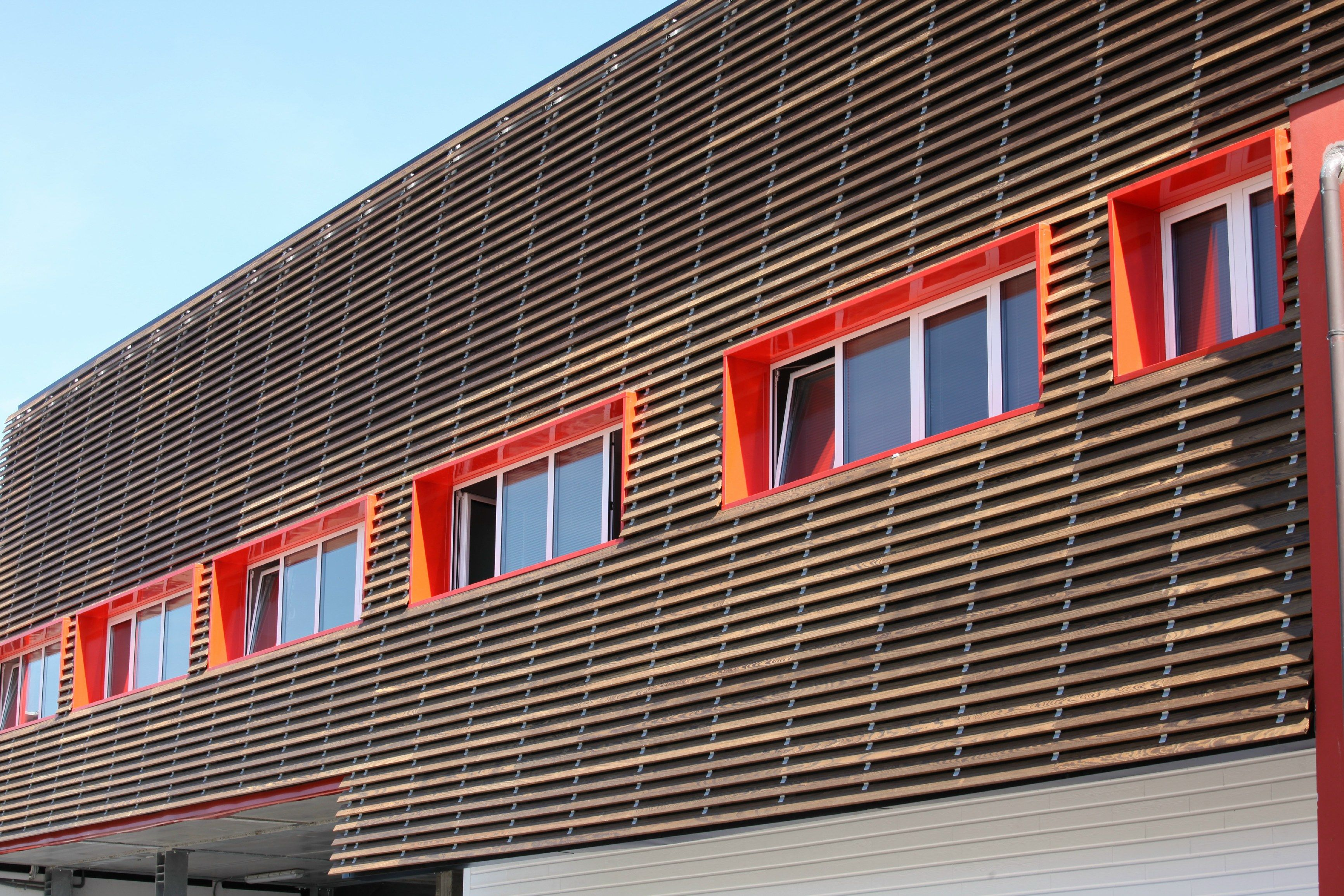 Wood Panel For Facade Solar Shading 4sun By Ravaioli Legnami Solar Shades Wood Paneling Facade