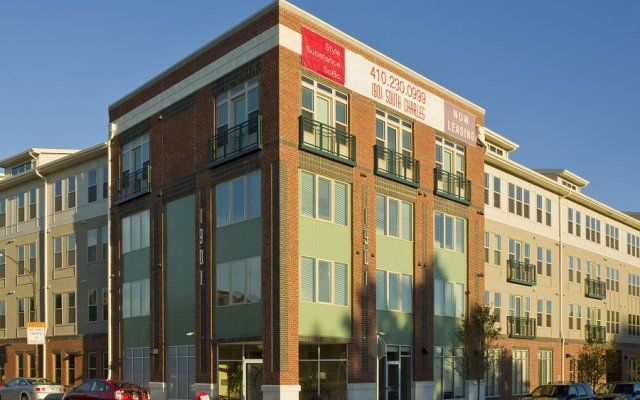 1901 South Charles Brand New Luxury Apartments Near Federal Hill In Downtown Baltimore Condos For Rent Green Apartment Luxury Apartments