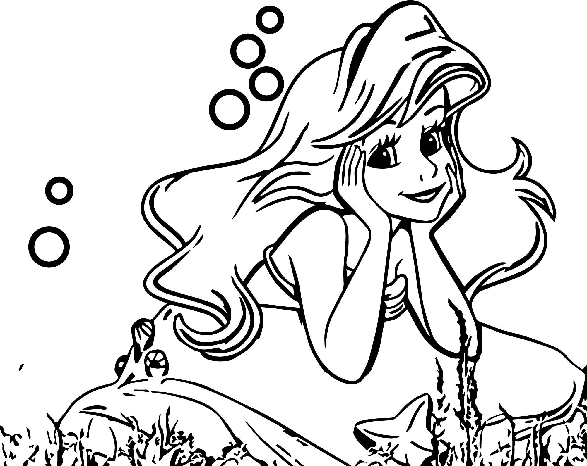 Cool Cute Thinking Ariel Mermaid Coloring Page Mermaid Coloring Pages Mermaid Coloring Book Disney Princess Coloring Pages [ 1594 x 2005 Pixel ]