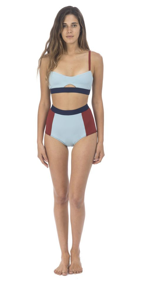 928682849f Slimming Swimsuits For Body Type-Flattering Bathing Suits- IF YOU RE  PEAR-SHAPED.High-waisted bikinis are the perfect option for women who are  pear shapes ...