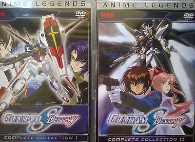 Mobile Suit Gundam Seed Destiny: Complete Collection I-II (Anime Legends)