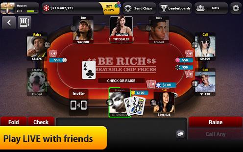 Zynga Poker for Android [Review] Poker, Texas holdem