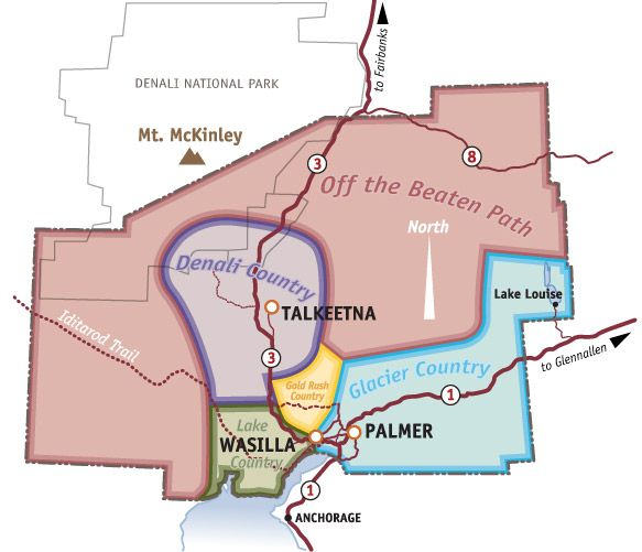 Matsu Valley Alaska Map.Great Website About Visiting The Mat Su Valley In Alaska Great Map
