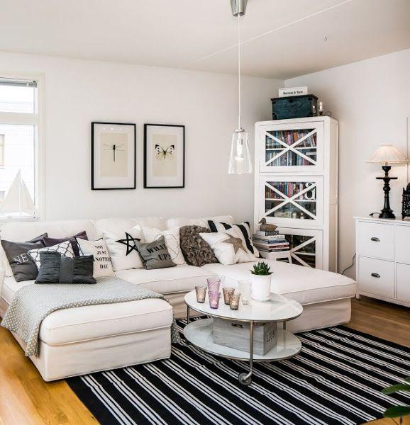Un tico de estilo n rdico y con muebles low cost dise o for Arredamento nordico low cost