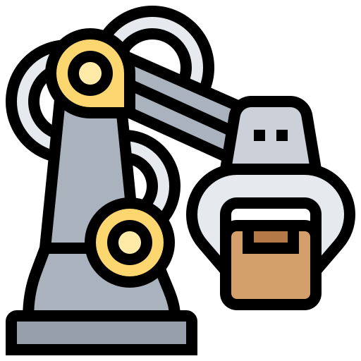 Robotic Arm Free Vector Icons Designed By Eucalyp Vector Icon Design Vector Free Free Icons