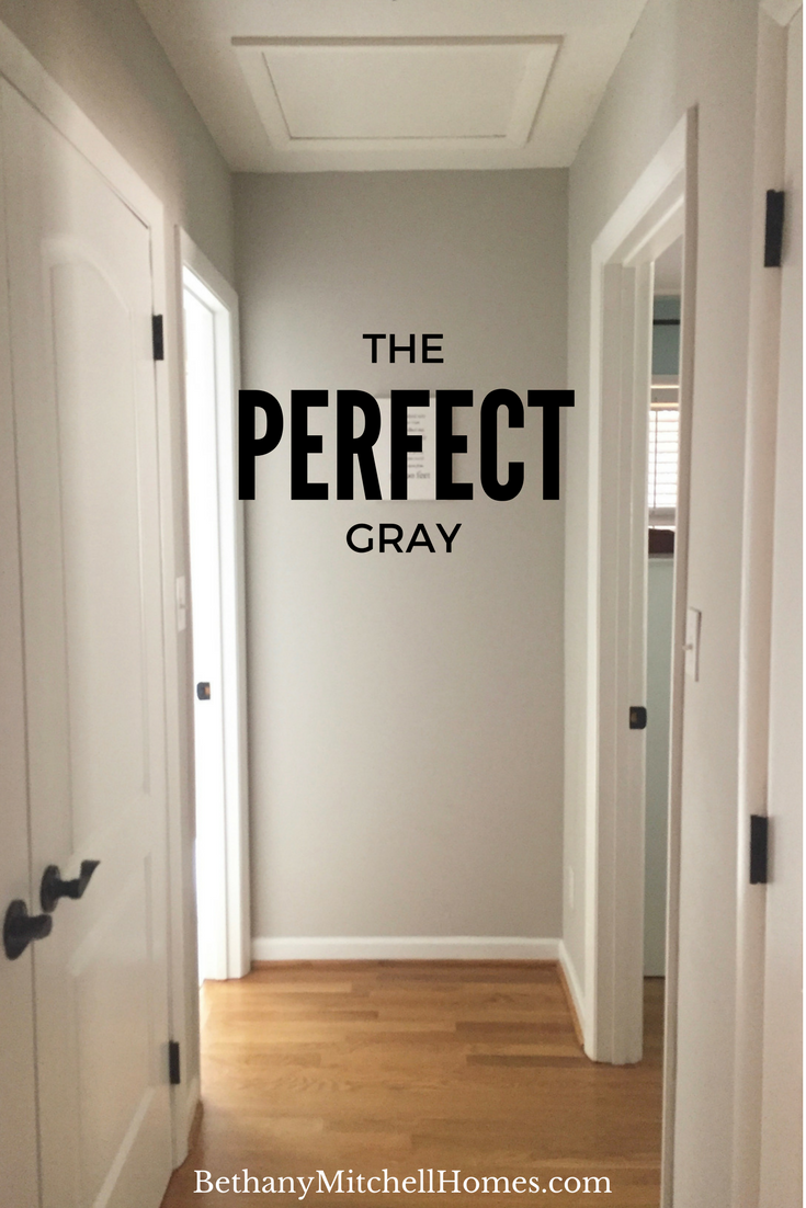 The Perfect Gray — Bethany Mitchell Homes