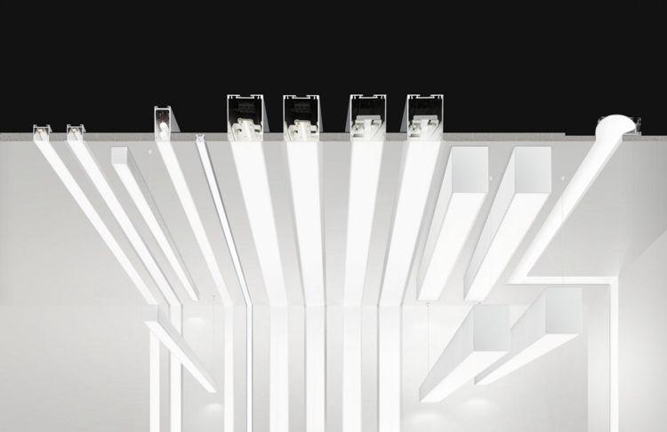 Montage der unterschiedlichen einbaubaren LED Leisten LED