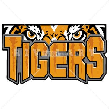 Mascot Clipart Image of A Tigers Logo http://www.rivalart.com/cart/pc/viewCategories.asp?idCategory=102&opid=5