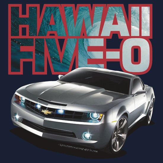 Hawaii 5 0 Camaro Red Outline By Sharknose Hawaii Five O
