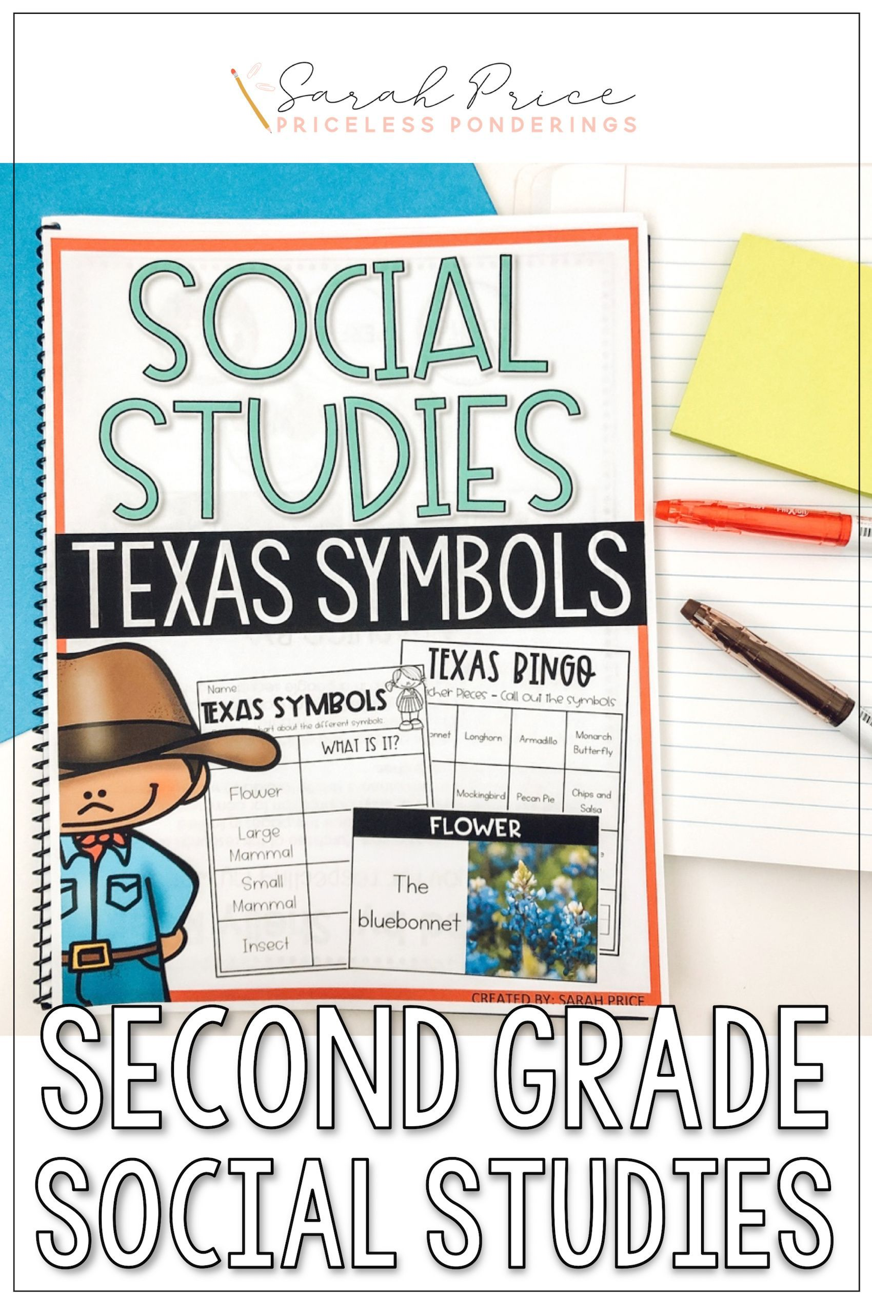 Texas State Symbols Activities And Worksheets In