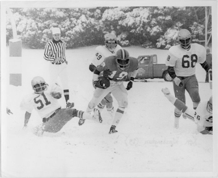 Snow Bowl Game North Texas vs Florida State 1976