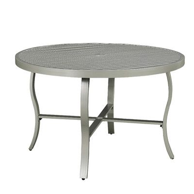 Brentwood Glass Side Table Round Outdoor Dining Table Metal Dining Table Dining Table