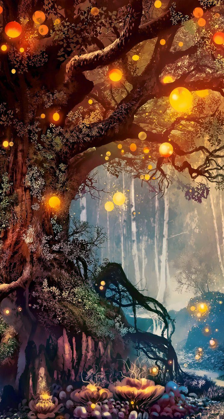 Fantasy Nature Paysage Magnifique Dessin Paysage Fantastique Paysage Manga