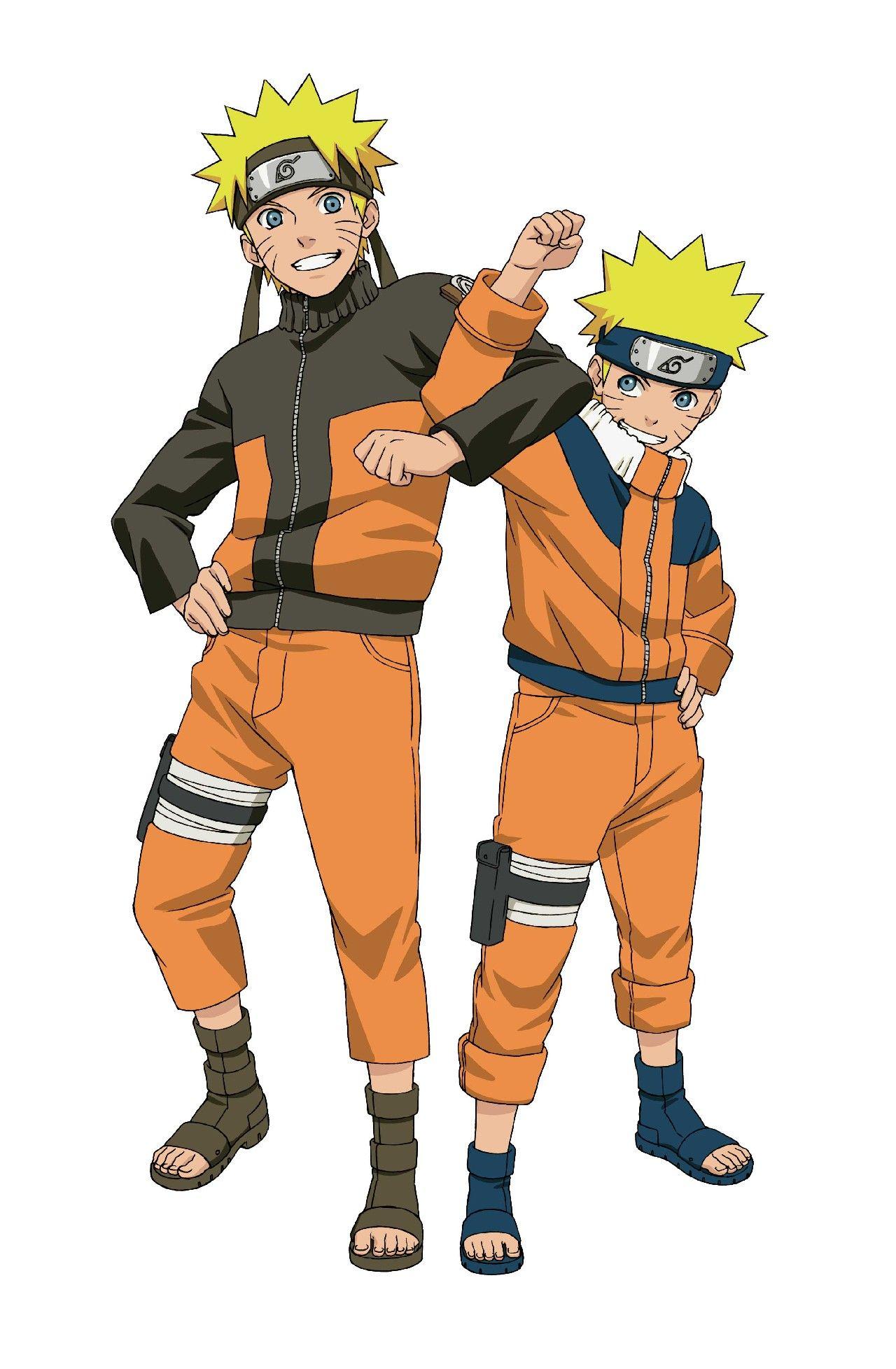 Naruto young and old Naruto shippuden characters, Naruto