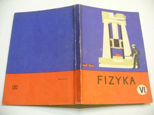 Fizyka Kl Vi Podrecznik Prl 8539189667 Oficjalne Archiwum Allegro Book Cover Books Cover
