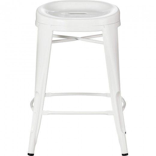 Peachy Fenton Barstool White For Fiona Kitchen Breakfast Bar Gamerscity Chair Design For Home Gamerscityorg