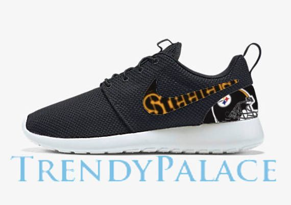 d37320f4e8a8 Pittsburgh Steelers Custom Nike Roshe Run Men Women Youth ...