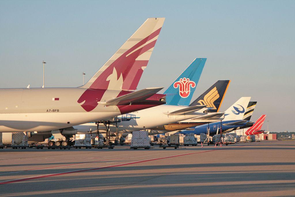 Cargo Tails Boeing Aircraft Air Cargo Jet Airways