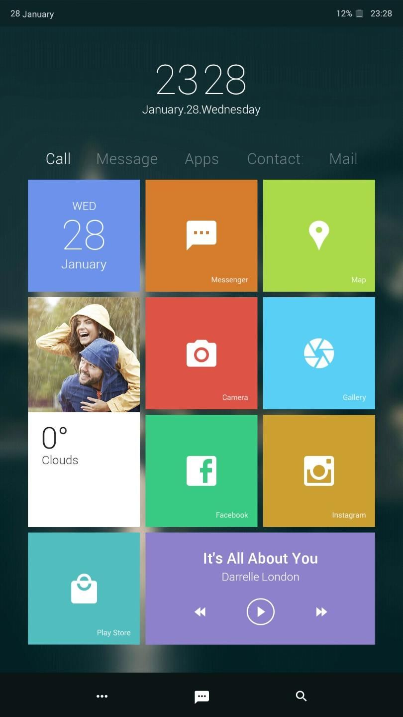 [Homepack Buzz] Check out this awesome homescreen! Kimana