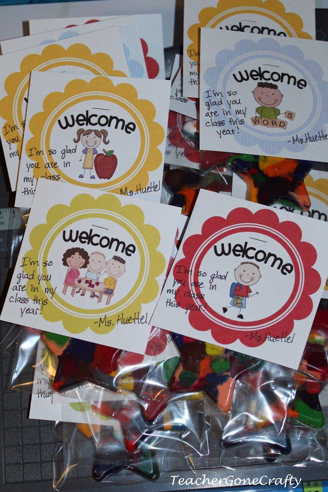 Teacher Gone Crafty Welcome To Kindergarten Gift Welcome To