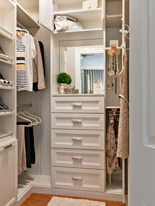 Best 5x7 closet design ideas remodel pictures houzz - Walk in closet design ideas plans ...