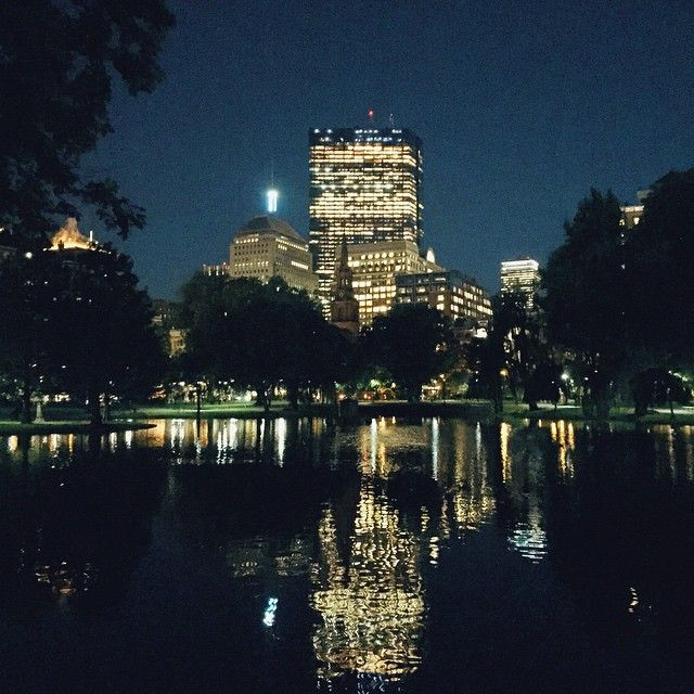 A midnight summer's dream in the city