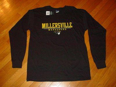 MU Millersville The Ville Marauders Long Sleeve T Shirt Sz Medium | eBay