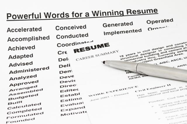 Get Your Resume Noticed With Resume Keywords Resume Resume Tips