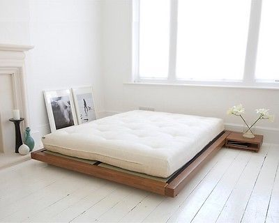 Kingsize Futon Company Platform Bed And Mattress