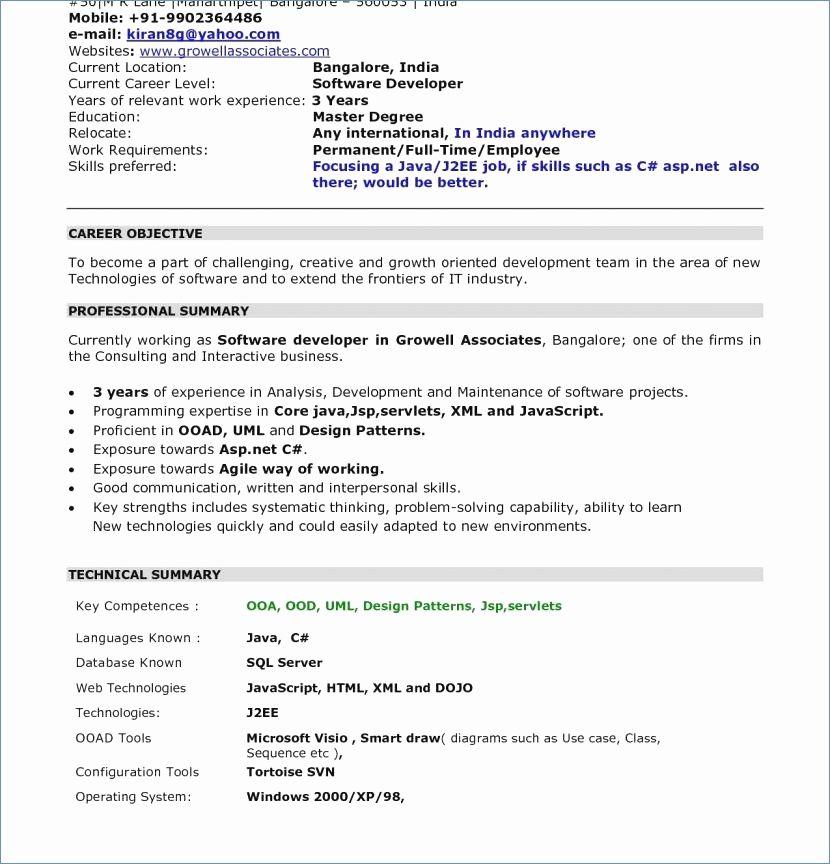 Resume Xml Format Resume format, Best resume format, Resume
