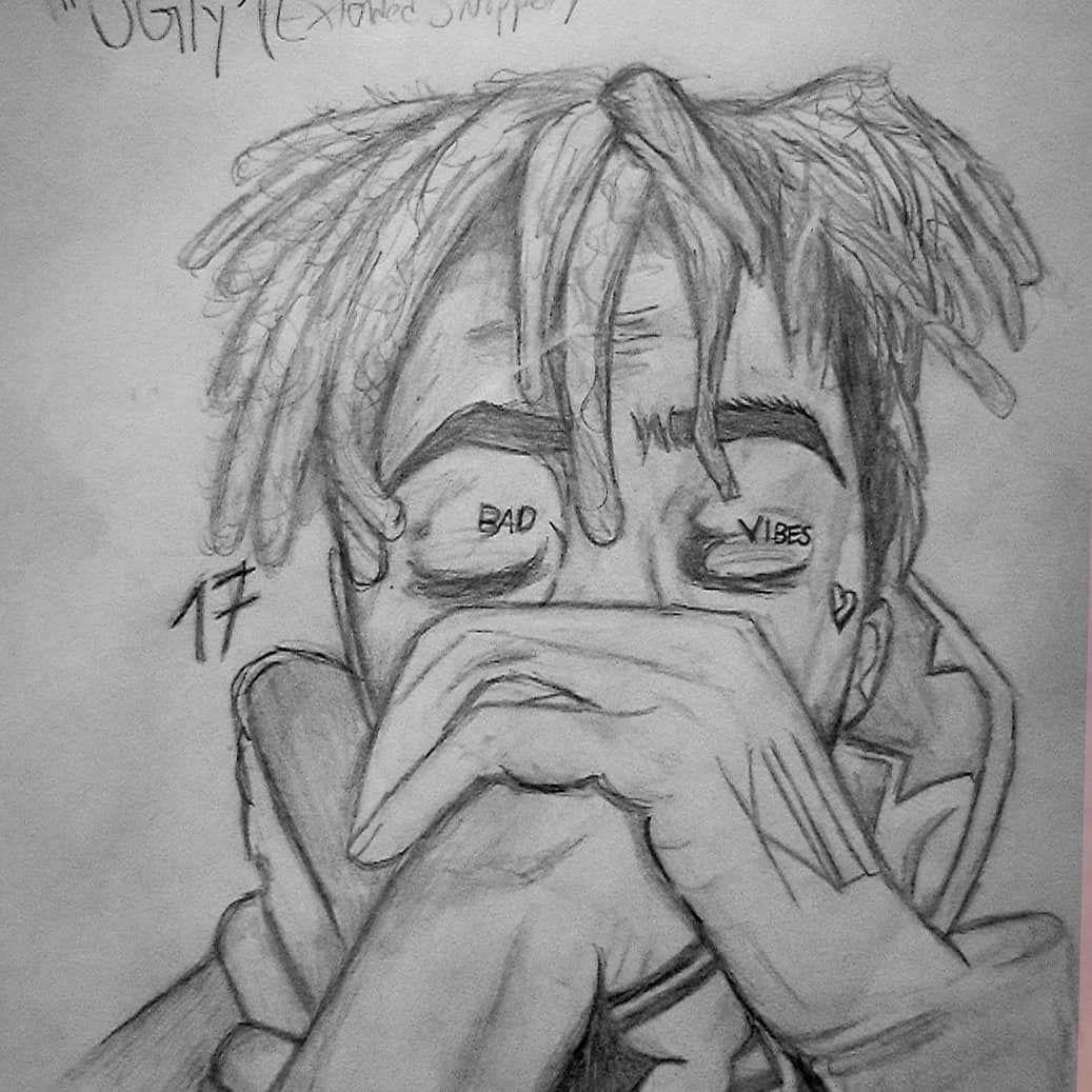 Drawing Xxxtentacion: Giving Off A Vibe #xxxtentacion #jahsehonfroy #drawings