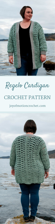 Regelo cardigan intermediate crochet pattern design crochet regelo cardigan intermediate crochet pattern design bankloansurffo Choice Image