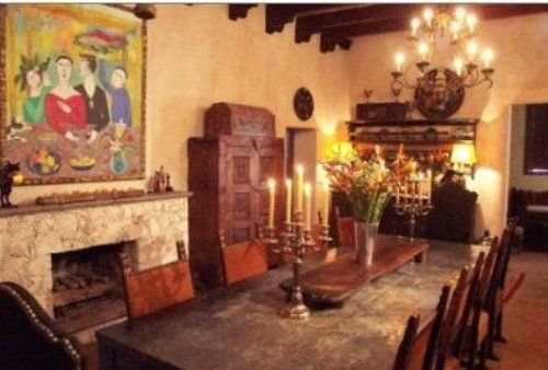 traditional dining room mexican interior design ideas | Interior ...
