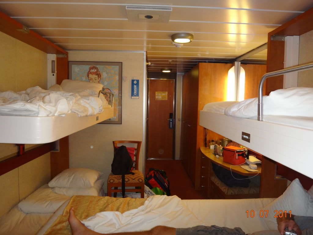 Fantasy Class In One Room Review From Inspiration - Elation cruise ship rooms