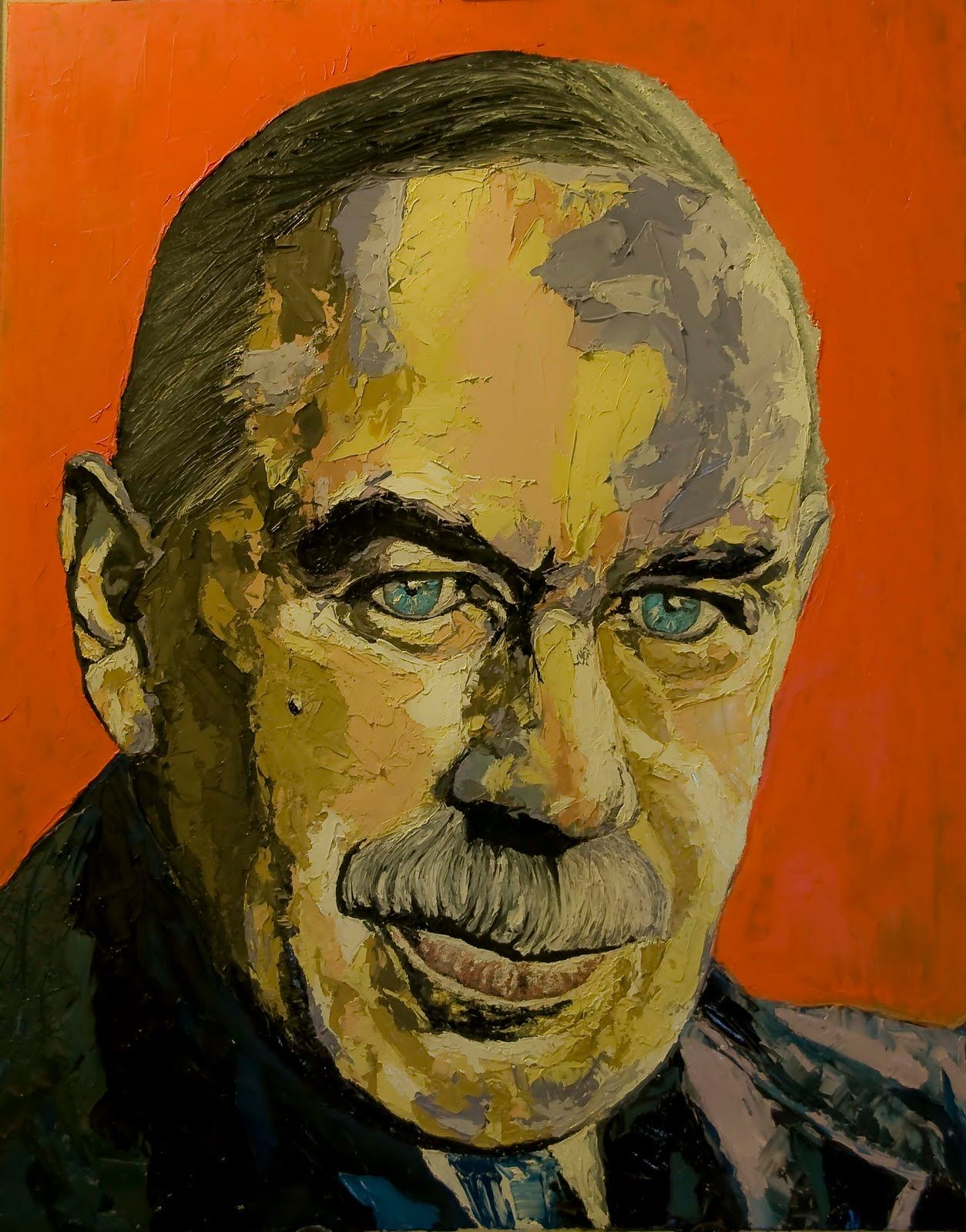 Image result for Portrait of John Maynard Keynes