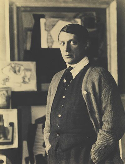 Credit: The Israel Museum, Jerusalem/Man Ray Trust Pablo Picasso, 1922 by Man Ray