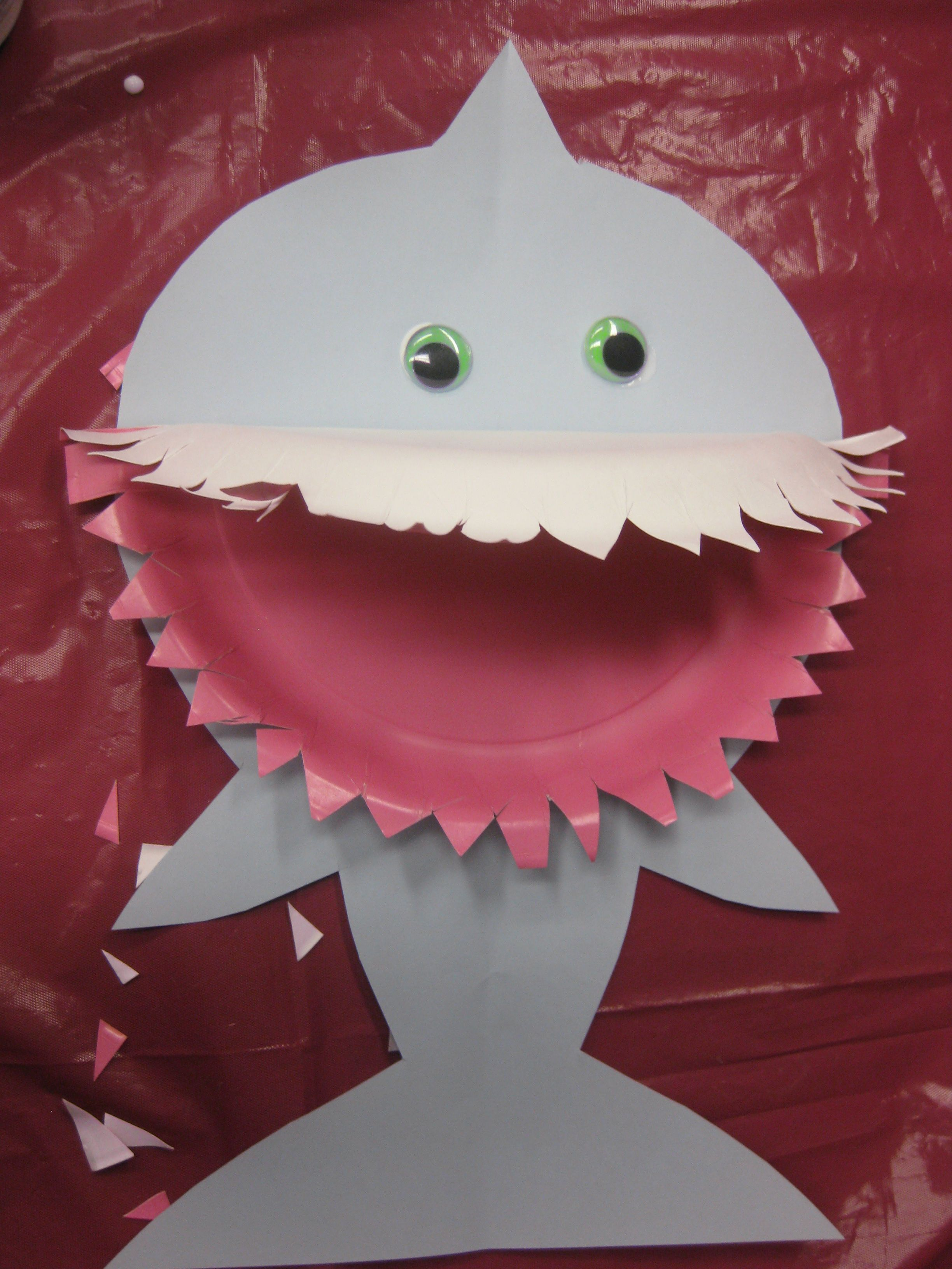 At Our July Paper Craft Program We Beat The Summer Heat By Plunging Into An Ocean Of Creativity