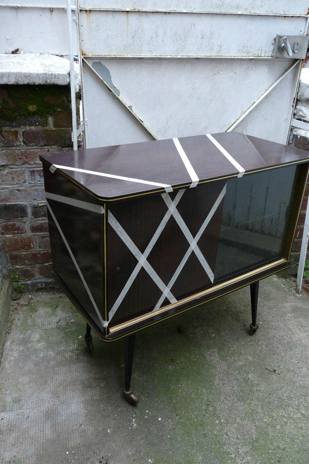 Relooker Un Meuble Bar En Formica Un Rien Une Idée Une - Transformer un meuble en bar