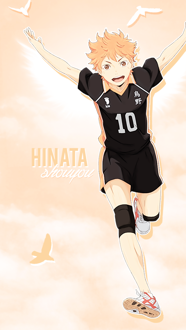 "kotoh "" ""Hinata Shouyou phone wallpapers as requested"
