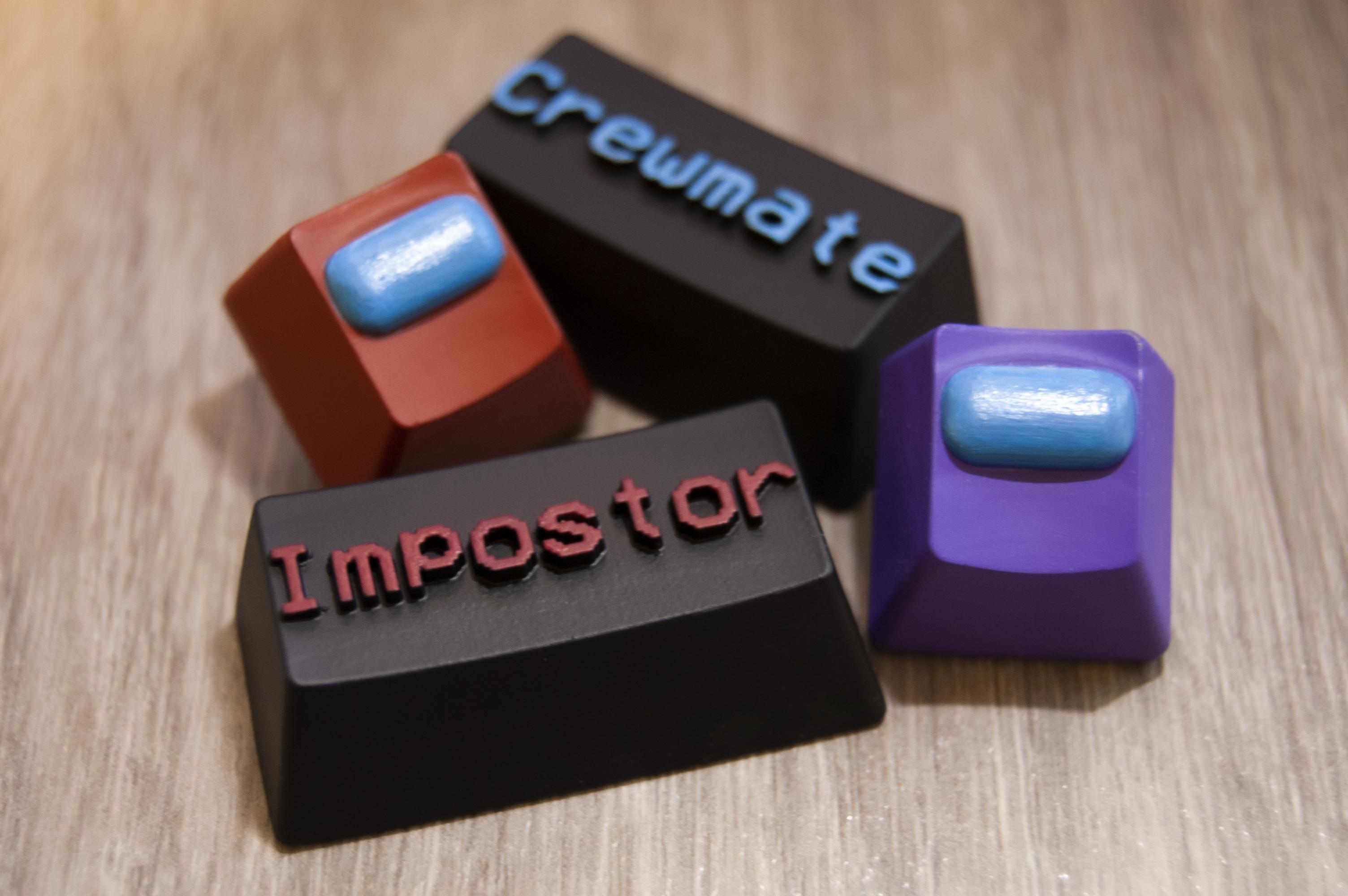 Among Us Artisan Keycaps In 2021 Computer Gaming Room Artisan Geek Crafts