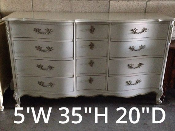 Gorgeous French Provincial 12 Drawer Dresser On Etsy 999 00