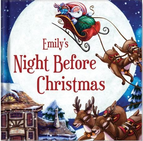 my night before christmas personalized book books