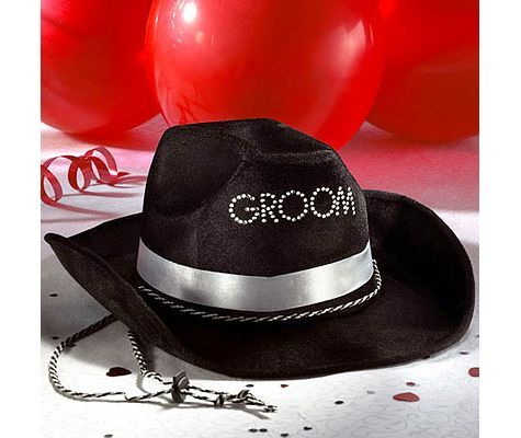 Groom To Be Cowboy Hat - Party City  fcc04a48dd3